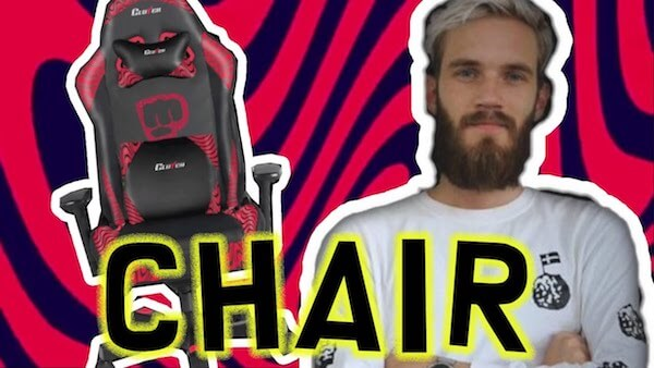 gaming seat review - PewDiePie Merch