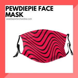 PewDiePie Face Masks
