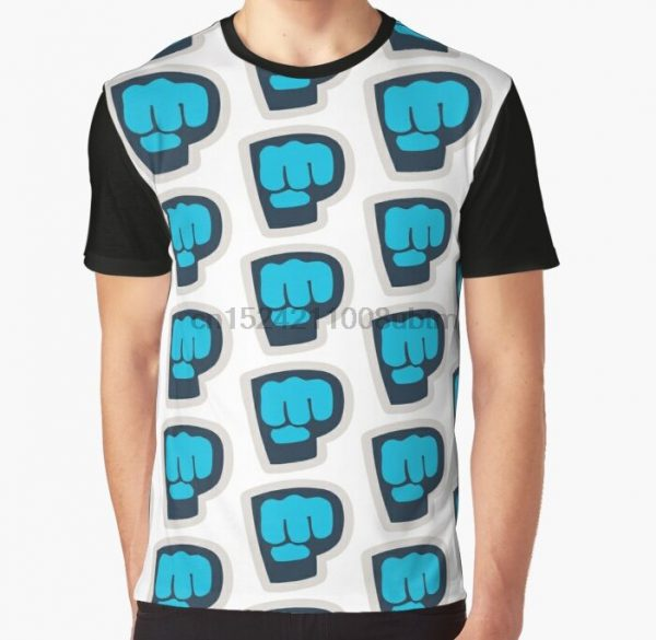 All Over Print 3D Women T Shirt Men Funny tshirt PewDiePie merc Graphic T Shirt - PewDiePie Merch
