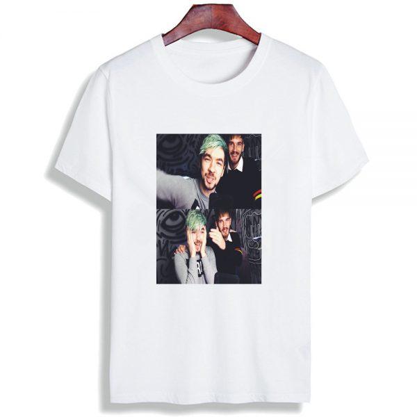 Fashion Short Sleeve T Shirt Men Madu Robearto Pewdiepie Printed 100 Cotton Top Tees Men O 16 - PewDiePie Merch