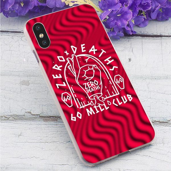 Hard PewDiePie Zero Deaths Phone Cover for iPhone 7 Plus Case XR Xs Max 11 Pro - PewDiePie Merch