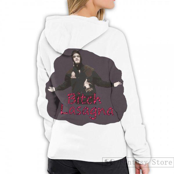 Mens Hoodies Sweatshirt for women funny Pewdiepie Bitch Lasagna print Casual hoodie Streatwear 2 - PewDiePie Merch