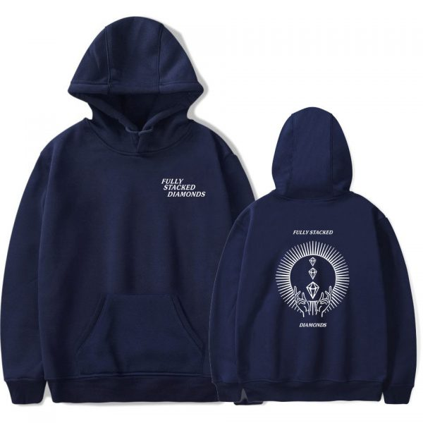 PewDiePie Hoodies FULLY STACKED DIAMONDS Sweatshirt Men Women Fashion Harajuku Hoodies Pullover Autumn Long Sleeve Tracksuit 3 - PewDiePie Merch