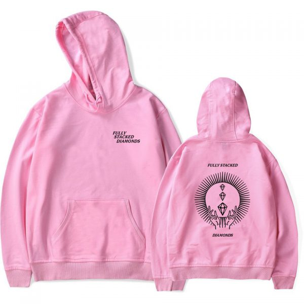 PewDiePie Hoodies FULLY STACKED DIAMONDS Sweatshirt Men Women Fashion Harajuku Hoodies Pullover Autumn Long Sleeve Tracksuit 4 - PewDiePie Merch