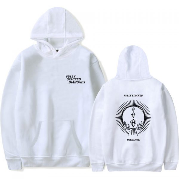 PewDiePie Hoodies FULLY STACKED DIAMONDS Sweatshirt Men Women Fashion Harajuku Hoodies Pullover Autumn Long Sleeve Tracksuit - PewDiePie Merch