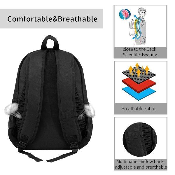 PewDiePie Zero Deaths women men backpack laptop travel school adult student 2 - PewDiePie Merch