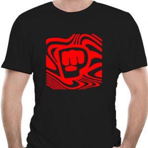 Pewdiepie Logo Wall Brofist Youtuber Logo MenS Black T Shirt Size S 3Xl Gift Funny Tee - PewDiePie Merch