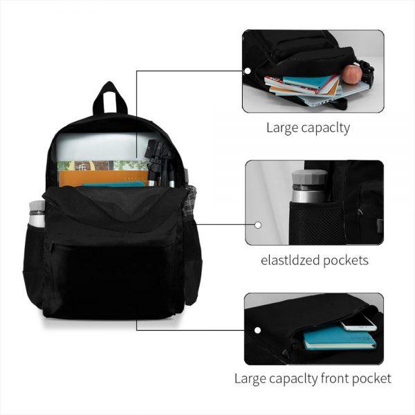 Pewdiepie Subcribe Logo USA Print Kawaii women men backpack laptop travel school adult student 1 - PewDiePie Merch