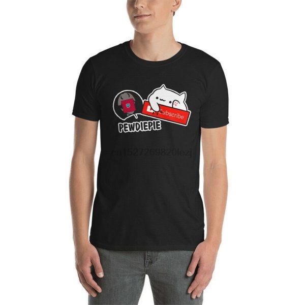Subscribe To Pewdiepie Unisex T Shirt Hip Hop Tee Shirt - PewDiePie Merch
