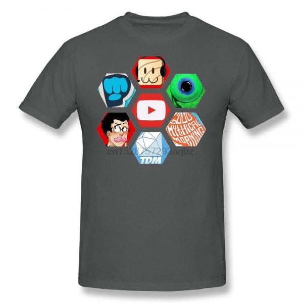 YUTY Men s Jacksepticeye and Pewdiepie T Shirt - PewDiePie Merch