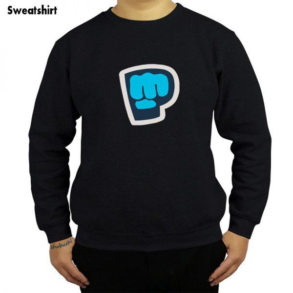 new arrived casual New Pew Die Pie Pewdiepie Symbol Famous Vlogger Men sweatshirt fashion luxury brand - PewDiePie Merch