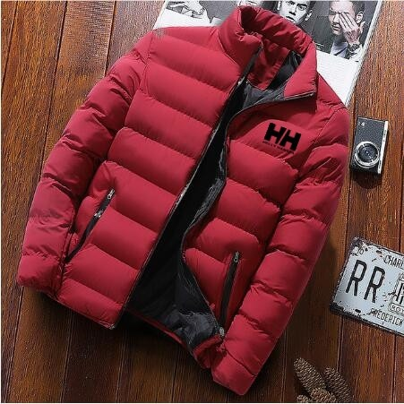 2020 new men winter warm out wear large size mens long sleeve stand collar casual zipper warm cotton jacket 6114 - PewDiePie Merch