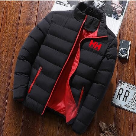 2020 new men winter warm out wear large size mens long sleeve stand collar casual zipper warm cotton jacket 8644 - PewDiePie Merch