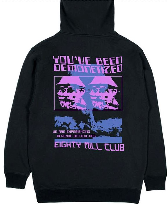 80 million club merch hoodie 6237 - PewDiePie Merch