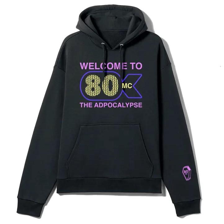 80 million club merch hoodie 8136 - PewDiePie Merch