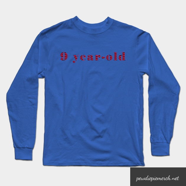 9 year old long sleeve t shirt 8955 - PewDiePie Merch