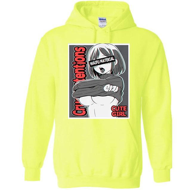 anime girls pewdipie hoodies 5246 - PewDiePie Merch