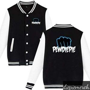 black amp white darlene stacy childrens pewdiepie jacket 8141 - PewDiePie Merch