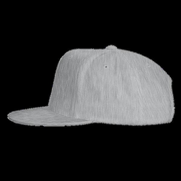 black blue gray color with pewdiepie smash logo snapback hat 1407 - PewDiePie Merch