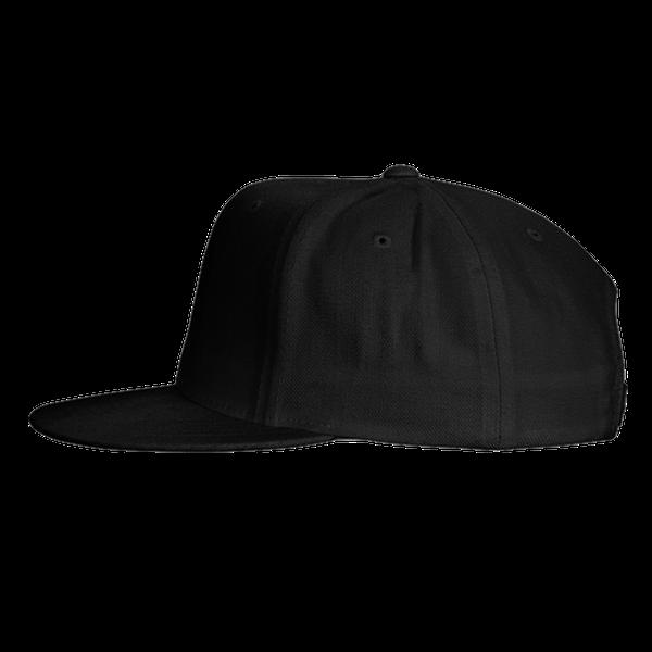 black blue gray color with pewdiepie smash logo snapback hat 1483 - PewDiePie Merch