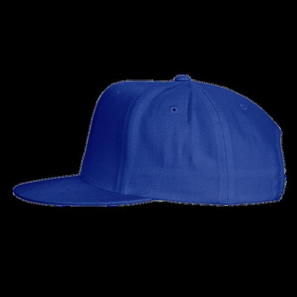 black blue gray color with pewdiepie smash logo snapback hat 2608 - PewDiePie Merch