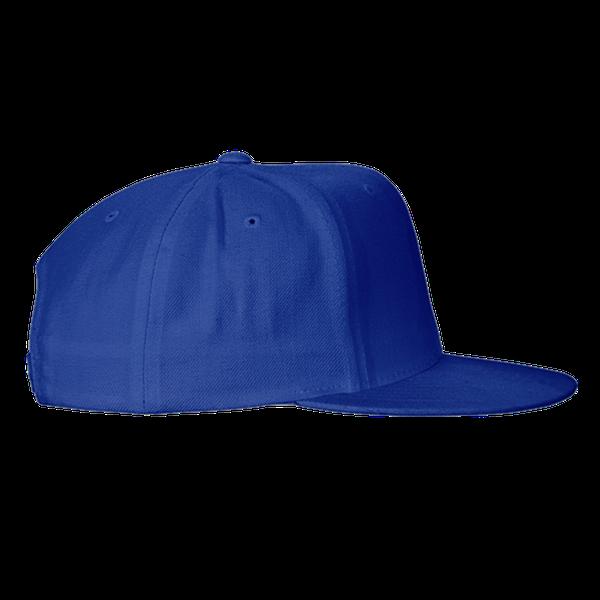 black blue gray color with pewdiepie smash logo snapback hat 4660 - PewDiePie Merch