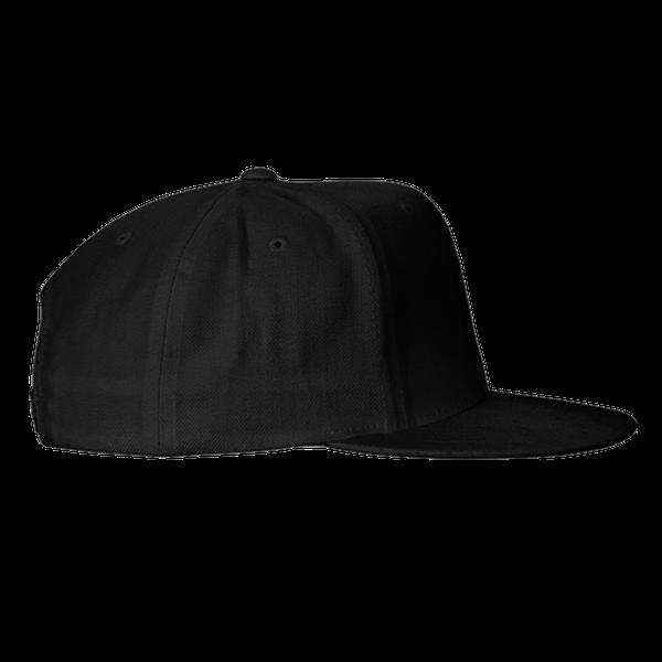 black blue gray color with pewdiepie smash logo snapback hat 5410 - PewDiePie Merch