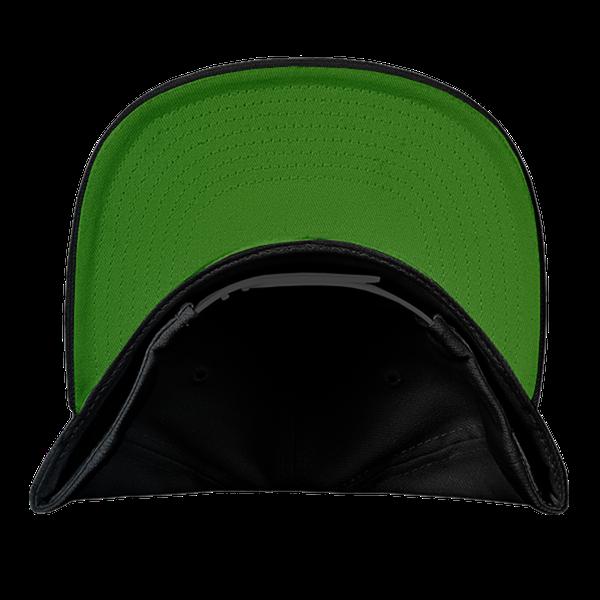 black blue gray color with pewdiepie smash logo snapback hat 8555 - PewDiePie Merch