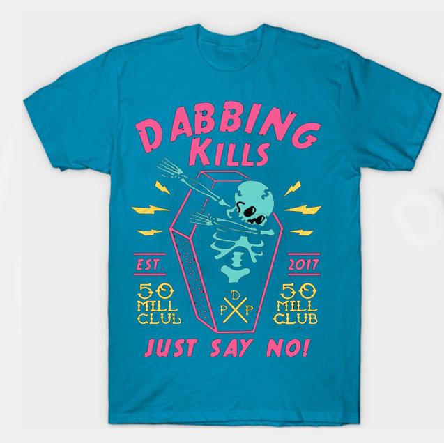 black color with pewdiepie dabbing kill mens t shirt 2750 - PewDiePie Merch