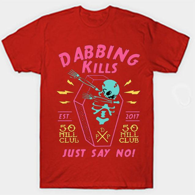 black color with pewdiepie dabbing kill mens t shirt 3264 - PewDiePie Merch