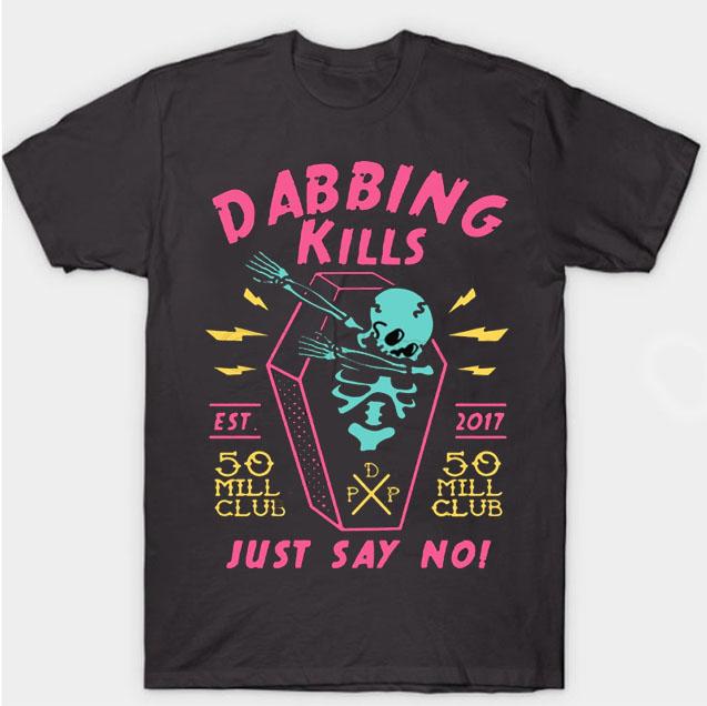 black color with pewdiepie dabbing kill mens t shirt 6805 - PewDiePie Merch