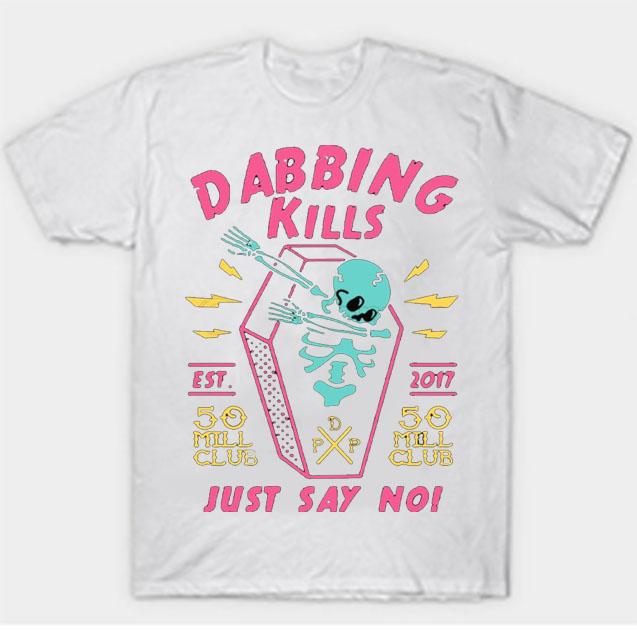 black color with pewdiepie dabbing kill mens t shirt 8253 - PewDiePie Merch