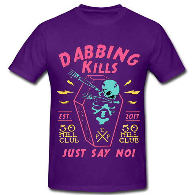 black color with pewdiepie dabbing kill mens t shirt 8720 - PewDiePie Merch