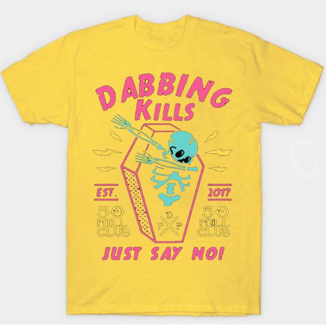 black color with pewdiepie dabbing kill mens t shirt 8902 - PewDiePie Merch