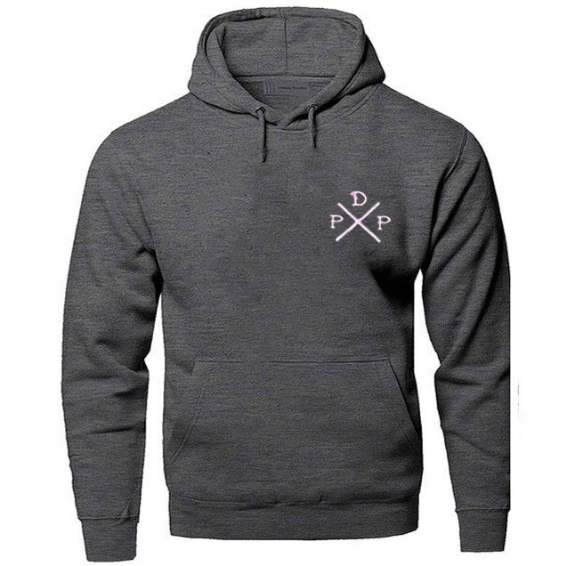 black color with pink logo pewdiepie merch hoodie 2527 - PewDiePie Merch