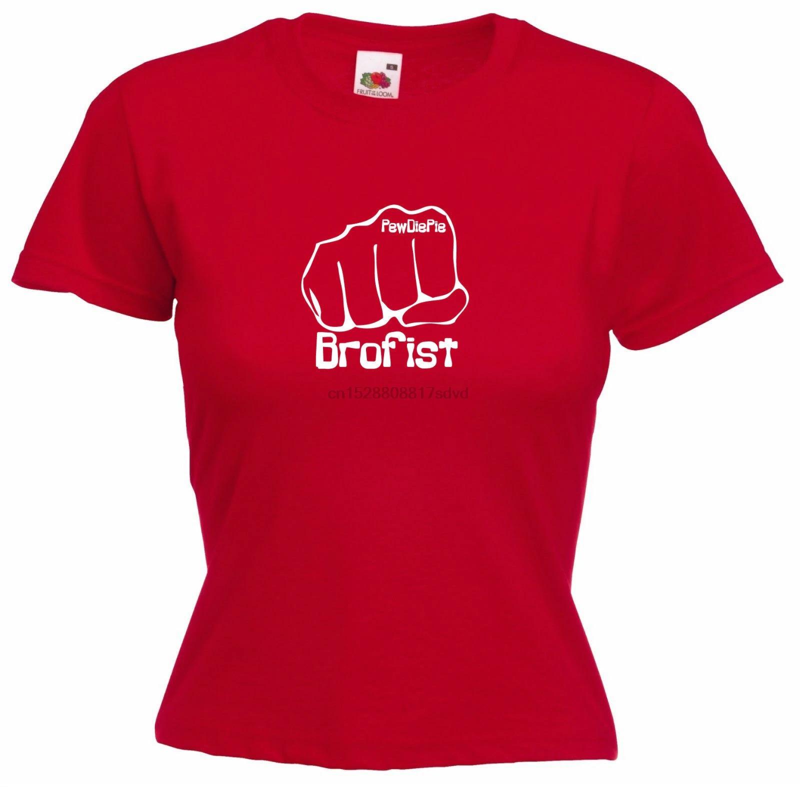 brofist   pewdipie stephano girls funny t shirt 3205 - PewDiePie Merch