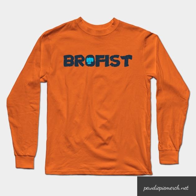 brofist long sleeve shirt 1058 - PewDiePie Merch