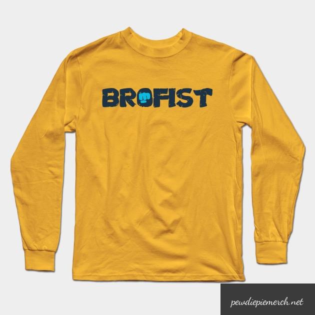 brofist long sleeve shirt 2257 - PewDiePie Merch