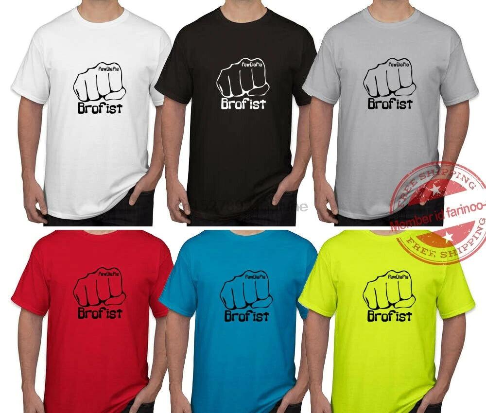 brofist pewdiepie bruits t shirt free shipping 5075 - PewDiePie Merch
