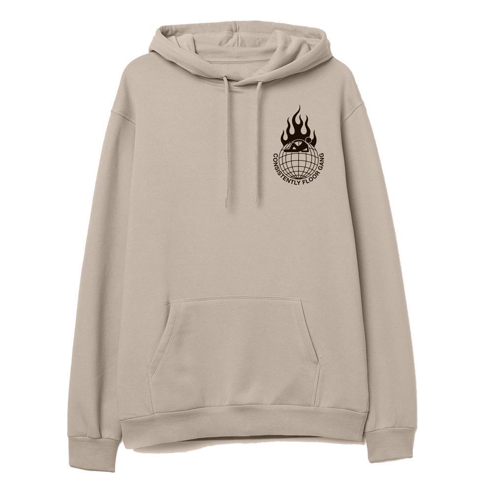 consistently floor gang sand color pewdiepie hoodie 3299 - PewDiePie Merch