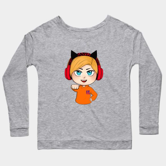 cute chibi pewdiepie brofist long sleeve t shirt 1698 - PewDiePie Merch