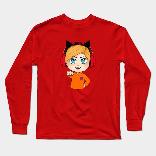 cute chibi pewdiepie brofist long sleeve t shirt 3207 - PewDiePie Merch