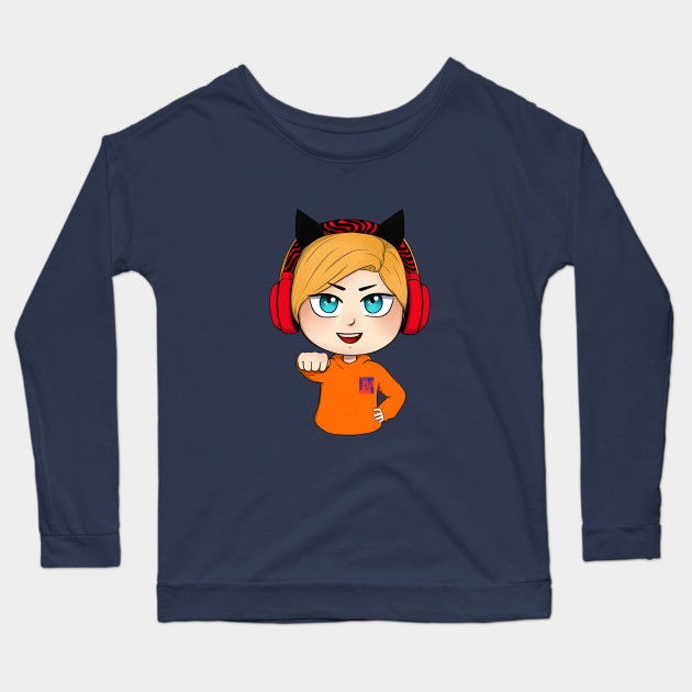 cute chibi pewdiepie brofist long sleeve t shirt 3212 - PewDiePie Merch