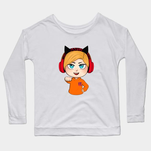 cute chibi pewdiepie brofist long sleeve t shirt 5595 - PewDiePie Merch