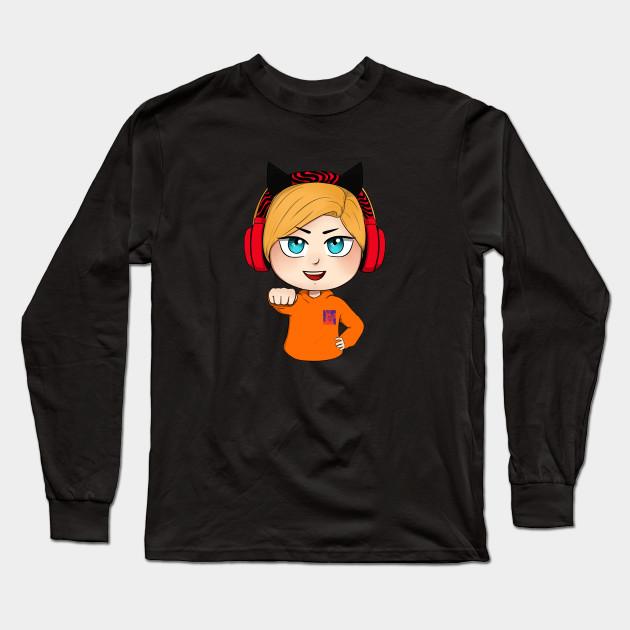 cute chibi pewdiepie brofist long sleeve t shirt 6619 - PewDiePie Merch