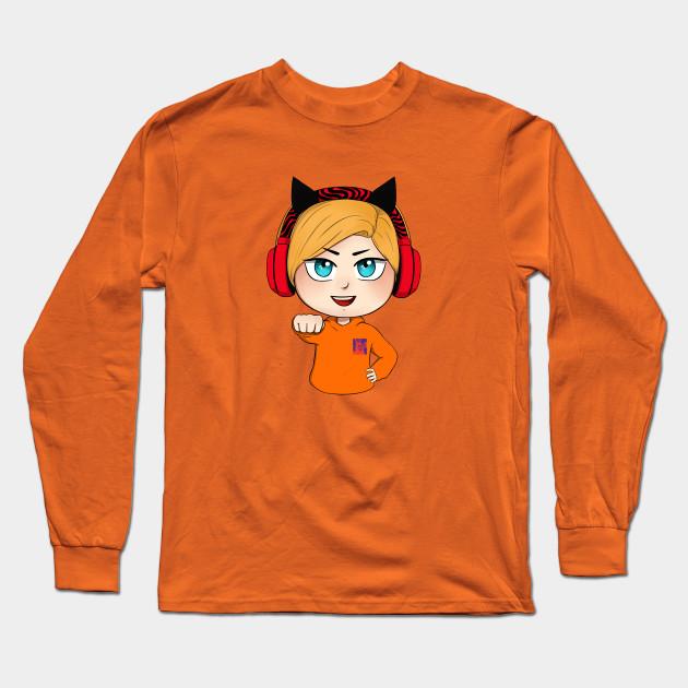 cute chibi pewdiepie brofist long sleeve t shirt 6812 - PewDiePie Merch