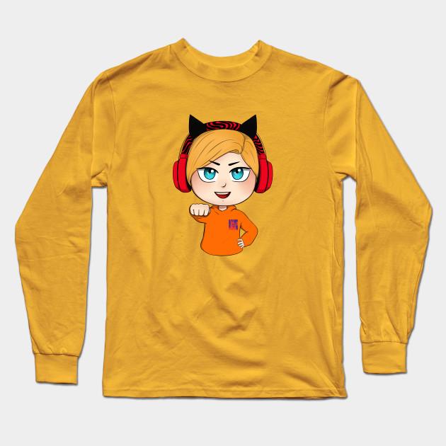 cute chibi pewdiepie brofist long sleeve t shirt 8210 - PewDiePie Merch