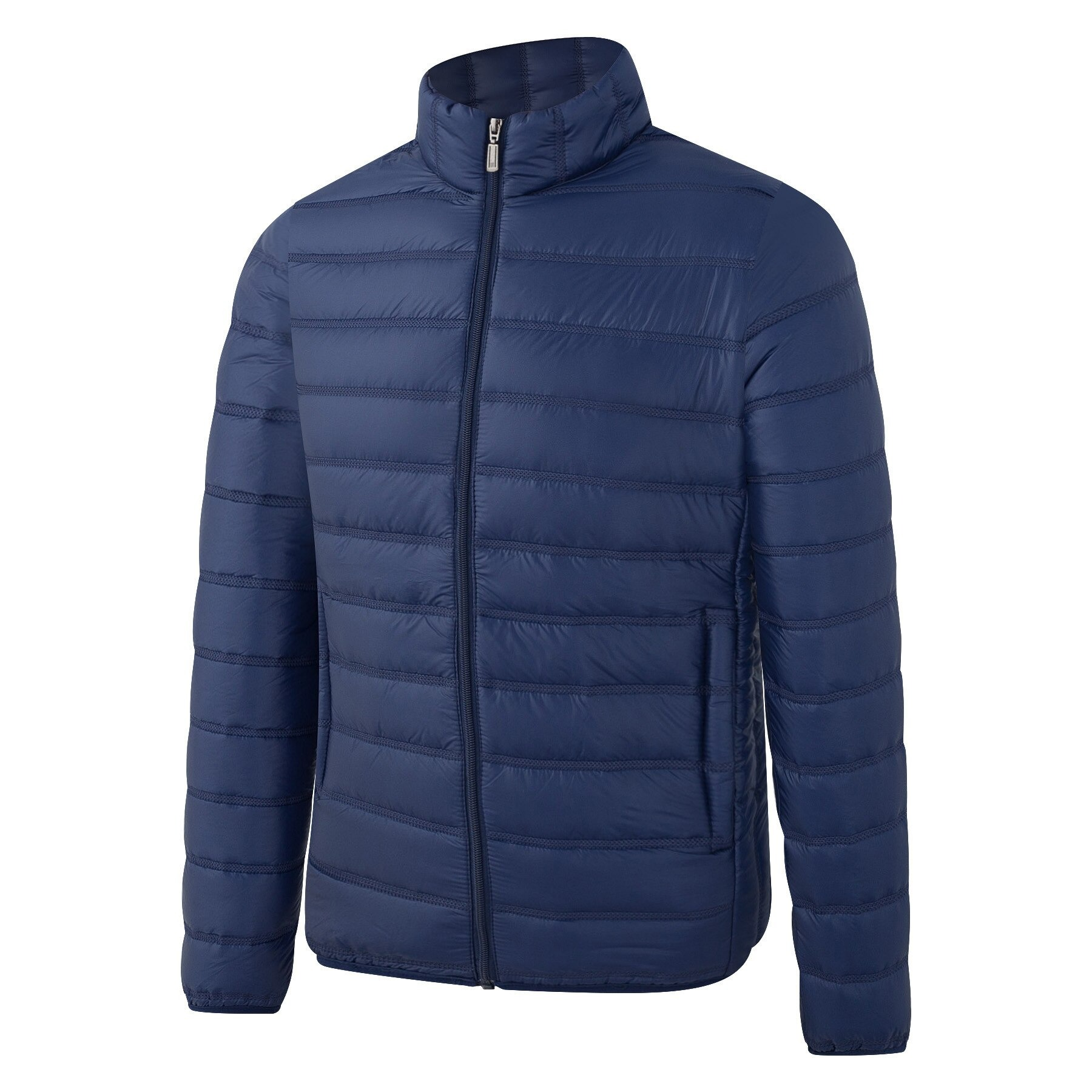 down cotton padded jacket casual all match fashion mens stand up collar thick solid color autumn large size 8733 - PewDiePie Merch