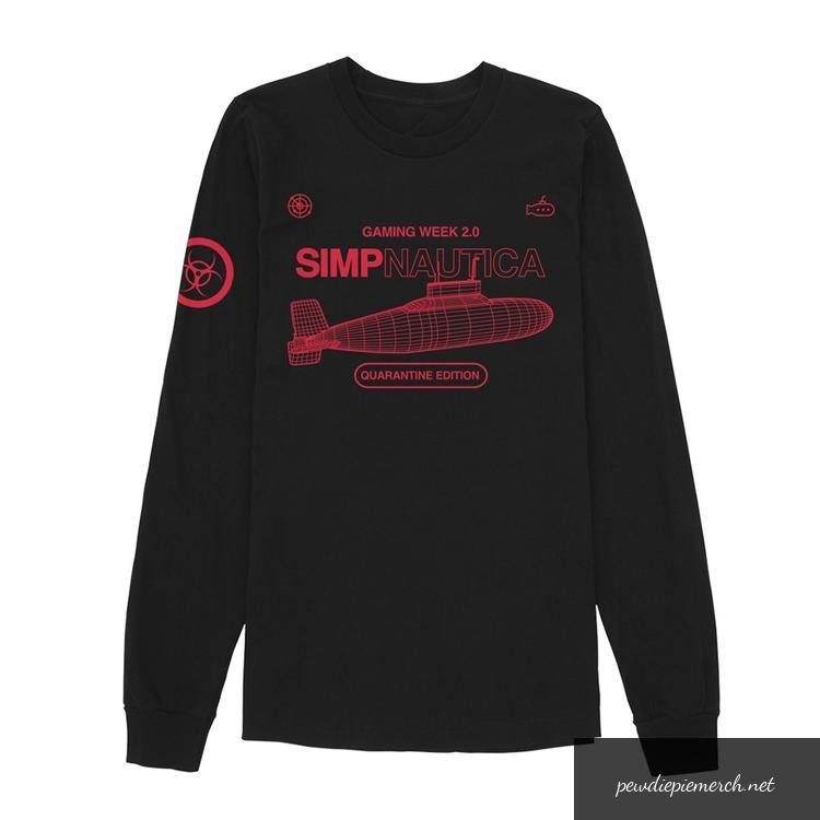 gaming week 20 pewdiepie long sleeves shirt 5813 - PewDiePie Merch