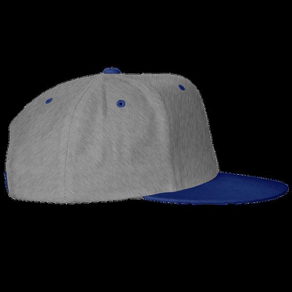 gray blue black color with pewdiepie smash logo snapback hat 2850 - PewDiePie Merch